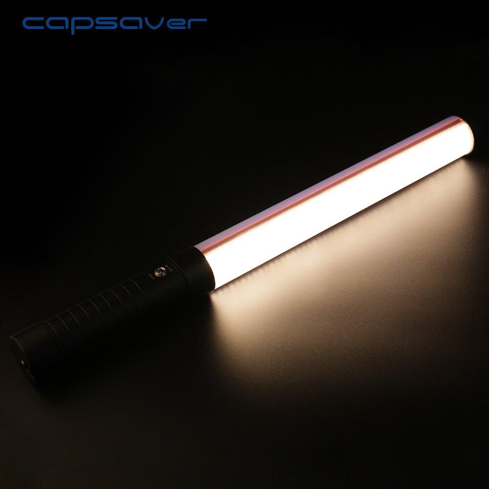 Capsaver STL-900 Portable Portable LED tube lumière vidéo Dimmable bicolore 3200 K/5600 K éclairage photographique avec télécommande
