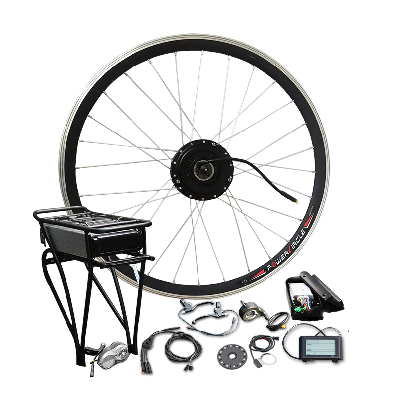 36V 250W/350W/500W Electric Bike Conversion Kit 36V 10A/12A Lithium Battery Electric Bike Kit MTB Ebike Kit Hub Motor E Bike цена