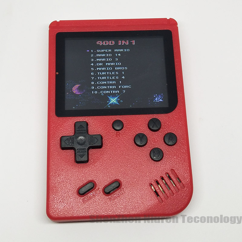 Sup Portable Video Handheld Game Console Retro Classic Mini Game Machine  Built-in 300 Classic Game red without gamepad 14