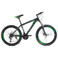 Mountain Bike BMX Bicycle 26 Inch 21 Speed Dual Disc Brakes Adult Men And Women Shift