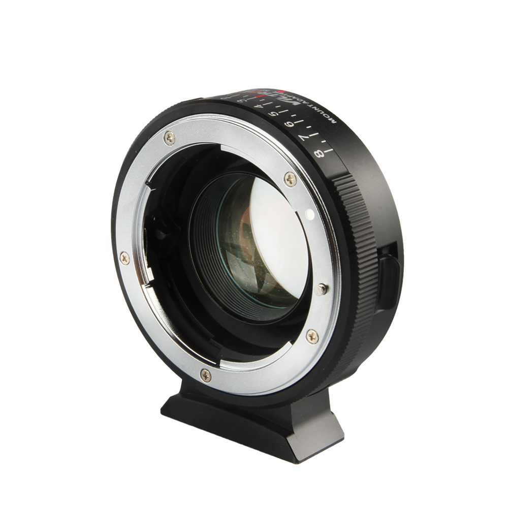 Image 2 - Viltrox NF M43X Focal Reducer Speed Booster Adapter Turbo w/ Aperture for Nikon Lens to M4/3 camera GH4 GH5GK GH85GK GF7GK GX7-in Lens Adapter from Consumer Electronics