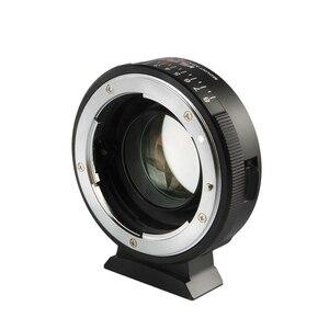 Image 2 - Viltrox NF M43X réducteur de focale adaptateur Booster de vitesse Turbo avec ouverture pour objectif Nikon vers M4/3 caméra GH4 GH5GK GH85GK GF7GK GX7
