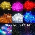 20 M 72ft 200 LED luces de Hadas de la Secuencia de la Navidad Guirnaldas de La Boda Decoración de Jardín Al Aire Libre Luz 110 V/220 V