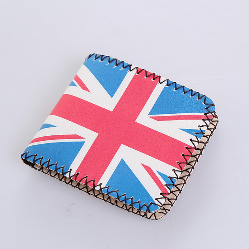 UK National Flag Ladies Leather Wallets Key Coin Holder Case for Kids Women Coin Purse Men's Wallets Money Bag Unisex Hot Sale