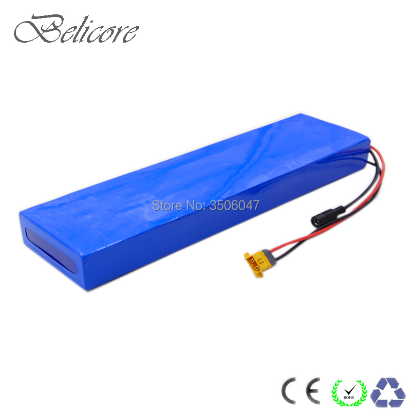 ultrathin 36v 10S5P electric scooter battery 36v 17.5ah e scooter lithium ion battery 36v 17ah for 500w 800w motor