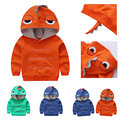Cute Dinosaur Hoodie Fleece Sweatshirt Baby Toddler Boy Kids Autumn Outfit Clothes Tops Coat Jacket Hoody Solid Jersey Clothing