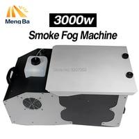 MengBa 3000 W Baixas Terra Fumaça Máquina de Fumaça de Controle Remoto