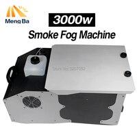 MengBa 3000W Low Lying Ground Smoke Fog Machine Remote Control