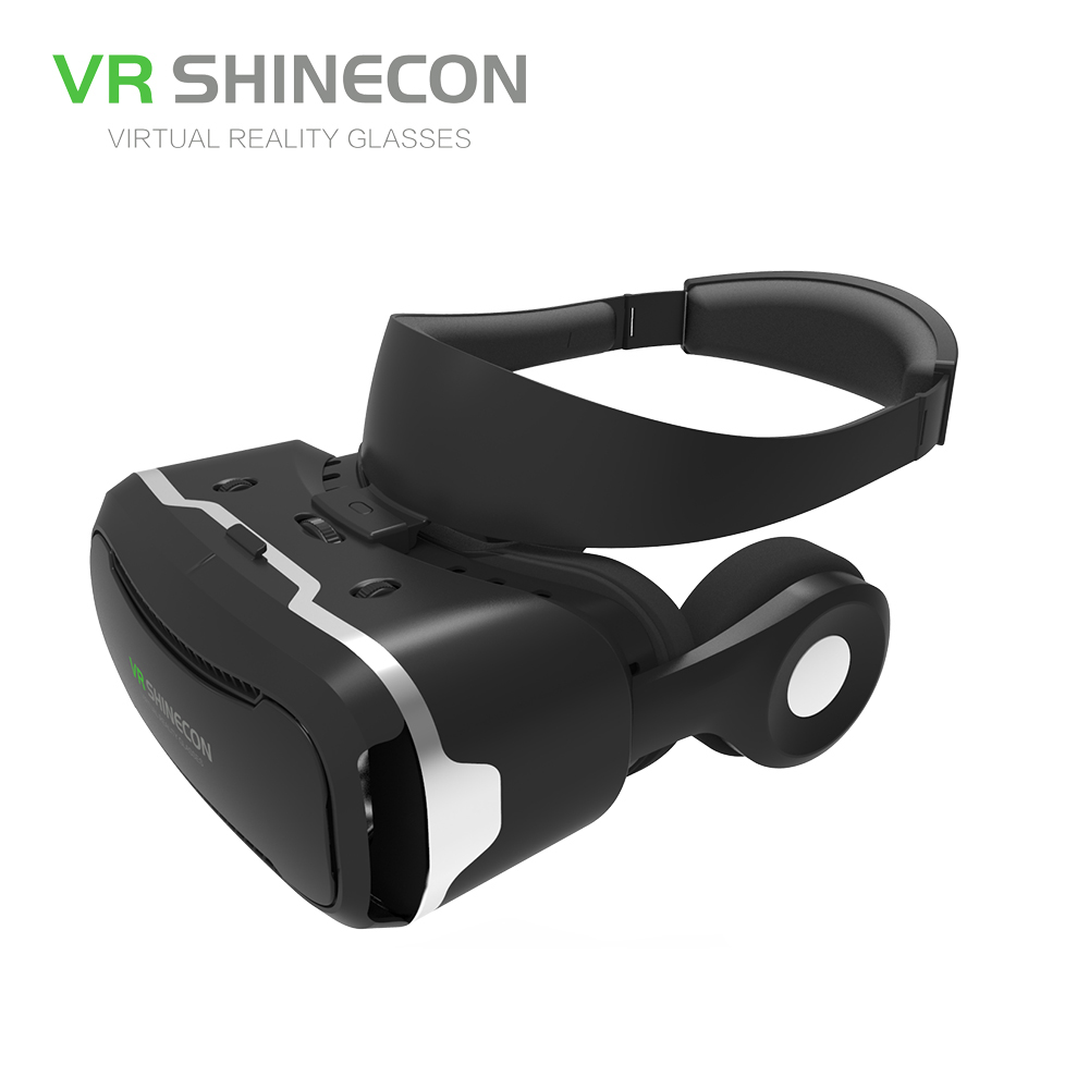 vr shineon 4 0 pro vr headset virtual reality goggles shinecon vr pro within headphone for 4 5 6. Black Bedroom Furniture Sets. Home Design Ideas
