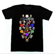 Tree of Life Tarot Kabbalah Shirt 43 T SHIRT Occult Witchcraft Satan Witch Summer T-Shirt Brand Fitness Body Building