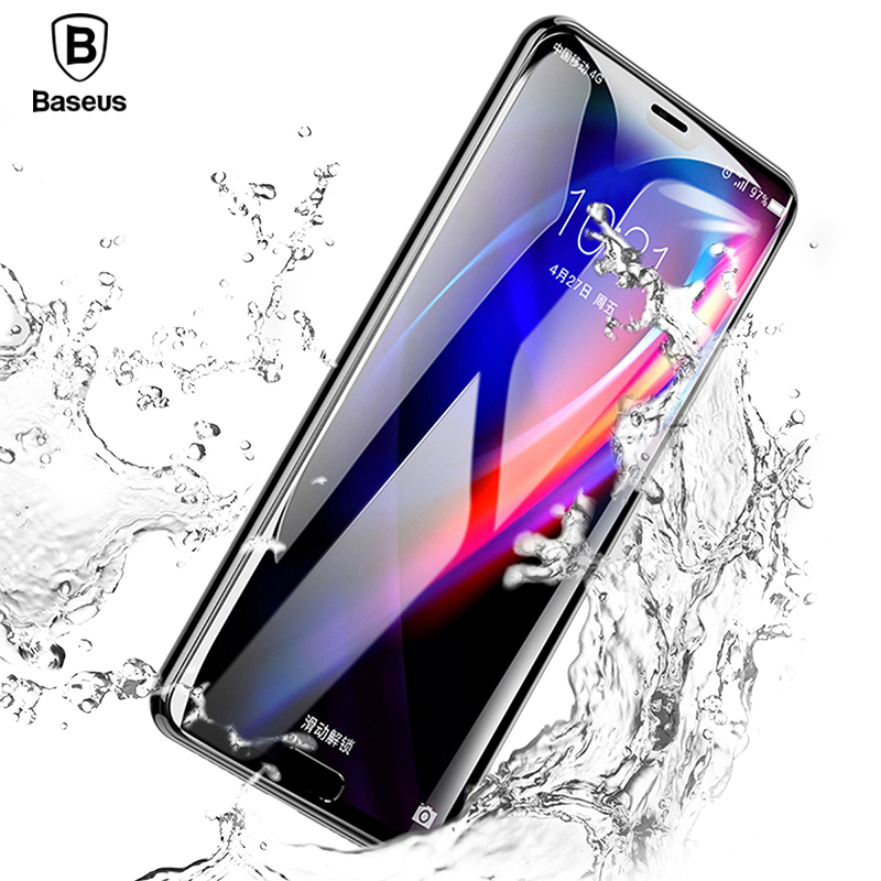 Baseus 0.3mm 6D Curved Full Cover Screen Protector For Huawei P20 P20 Pro Premium Tempered Glass Huawei P20 9H Protective Glass