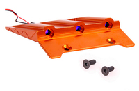 baja CNC alloy roof plate with LED light 95202 for1/5 HPI baja 5b KM ROVAN orange and silver