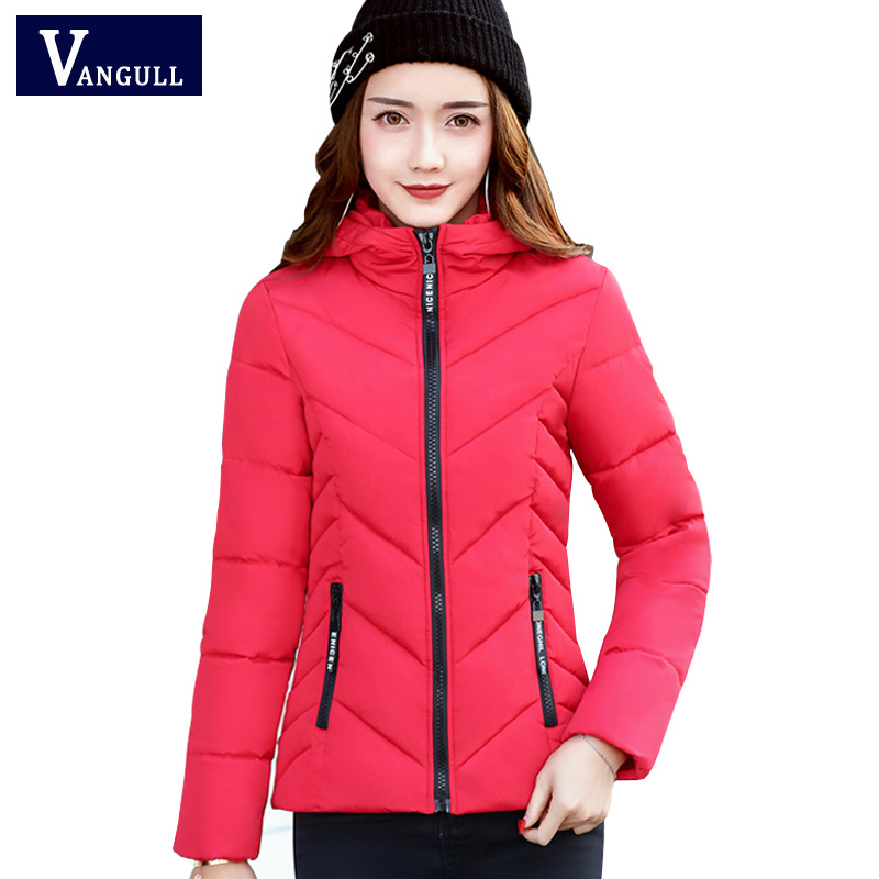Women winter hooded jacket and coat 2017 woman cotton padded parka short wadded overcoat casaco feminino abrigos mujer Invierno new 2017 solid color hooded winter women basic jacket cotton padded casaco feminino women slim short outwear female coat cm1660