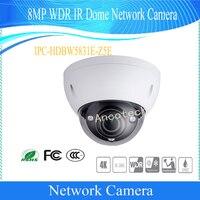Free Shipping DAHUA Security Camera 8MP WDR IR Dome Network Camera With POE+ IP67 SD Card Memory 128G DH IPC HDBW5831E Z5E
