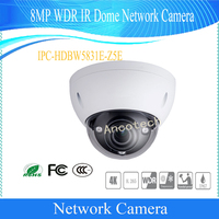 Free Shipping DAHUA Security IPC 8MP WDR IR Dome Network Camera With POE IP67 SD Card