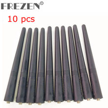 "10 Pcs VHF 5.5"" Antenna For Motorola Two Way Radio GP340 GP350 GP360 GP380 GP640 GP680 HT1250 HT750 HT1550 walkie talkie radios(China)"