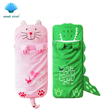 Cartoon animal modeling cotton baby kids sleeping bags winter toddler girl boy Warm sleep Keep Warm Prevention Kicking Quilt