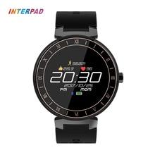 Interpad Sport Smart Watch IP68 Waterproof Color Touch Screen Smartwatch Support Blood Pressure Blood Oxygen Heart