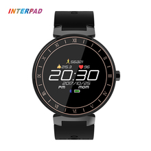 Interpad Sport Smart Watch IP68 Waterproof Color Touch Screen Smartwatch Support Blood Pressure Blood Oxygen Heart Rate Monitor