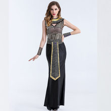 Stage Performance Egypt Goddess Cosplay Costume Halloween Queen of Egypt Cleopatra Uniform Role Play Clothings L1810921(China)
