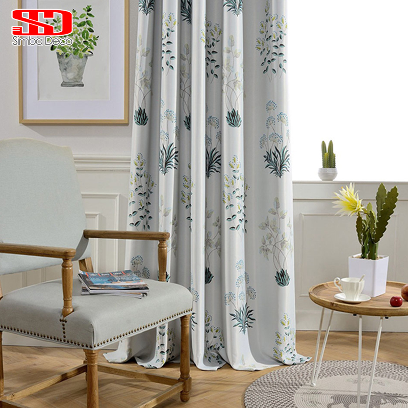 Children blackout curtains for living room luxury jacquard for Blackout curtains for kids rooms