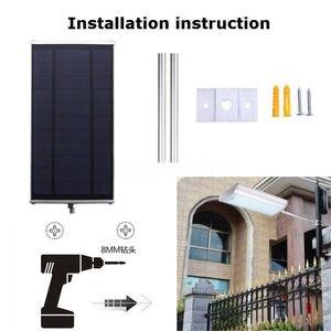 Image 2 - Новый Солнечный 70 LED датчик движения свет Открытый Сад Путь Уличный настенный светильник уличная лампа водонепроницаемый