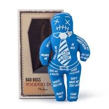 Mealivos Voodoo Doll stress relief reducer dool, best novelty gift for pink elephant exchange Bad Boss Voodoo Doll salvimar voodoo