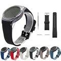 V-moro de silicona suave correa de banda reloj de pulsera de banda de reemplazo para el engranaje engranaje s2 s2 classic smart watch