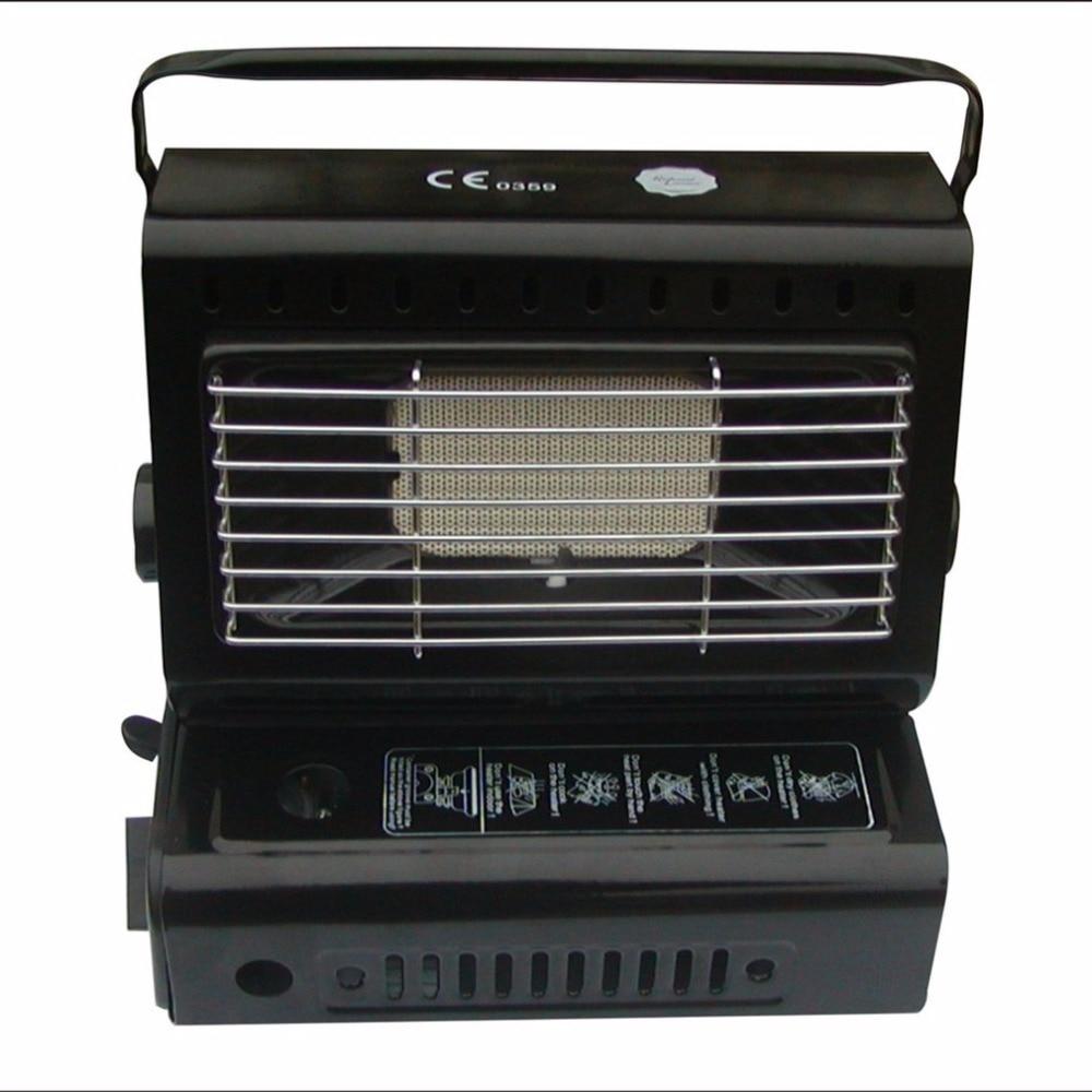 Chauffage extérieur brûleur à gaz chauffage pour voyager Camping randonnée pique-nique équipement double usage Portable poêle chauffage fer