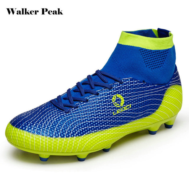 c9bfbfc9c20bf High Ankle Football Boots Kids Botines Botas Futbol 2017 Youth Superfly  Soccer Sports Shoes Outdoor Training Sneakers Hot Sale