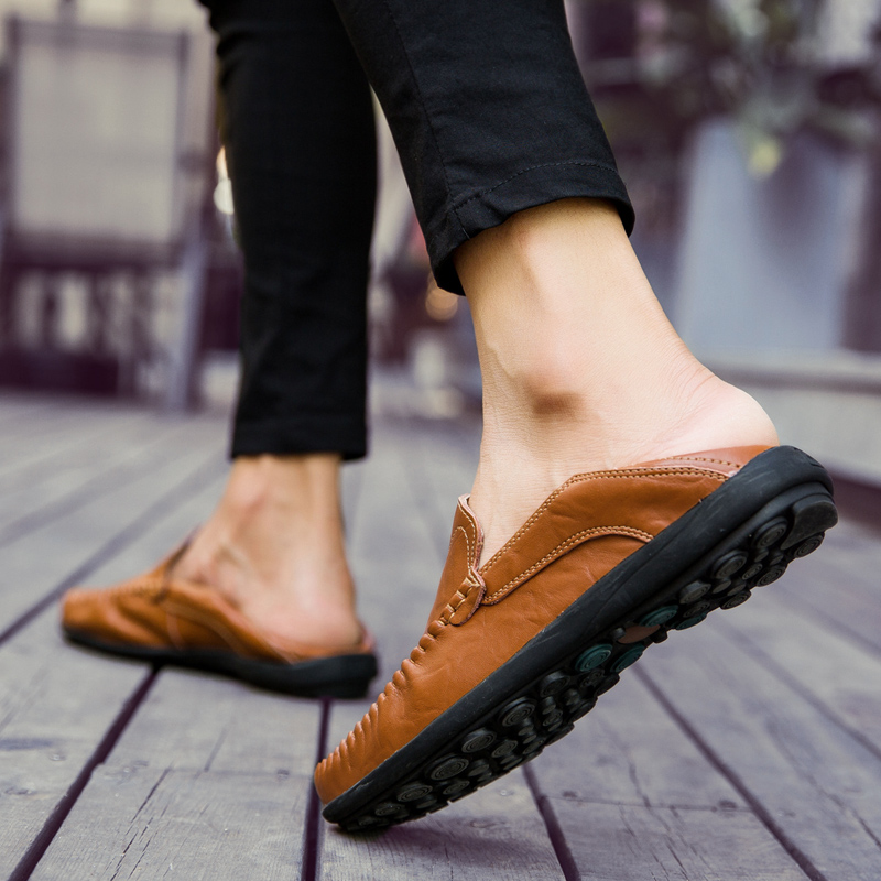 HTB1whN7kER1BeNjy0Fmq6z0wVXaP JKPUDUN Italian Mens Shoes Casual Luxury Brand Summer Men Loafers Genuine Leather Moccasins Comfy Breathable Slip On Boat Shoes