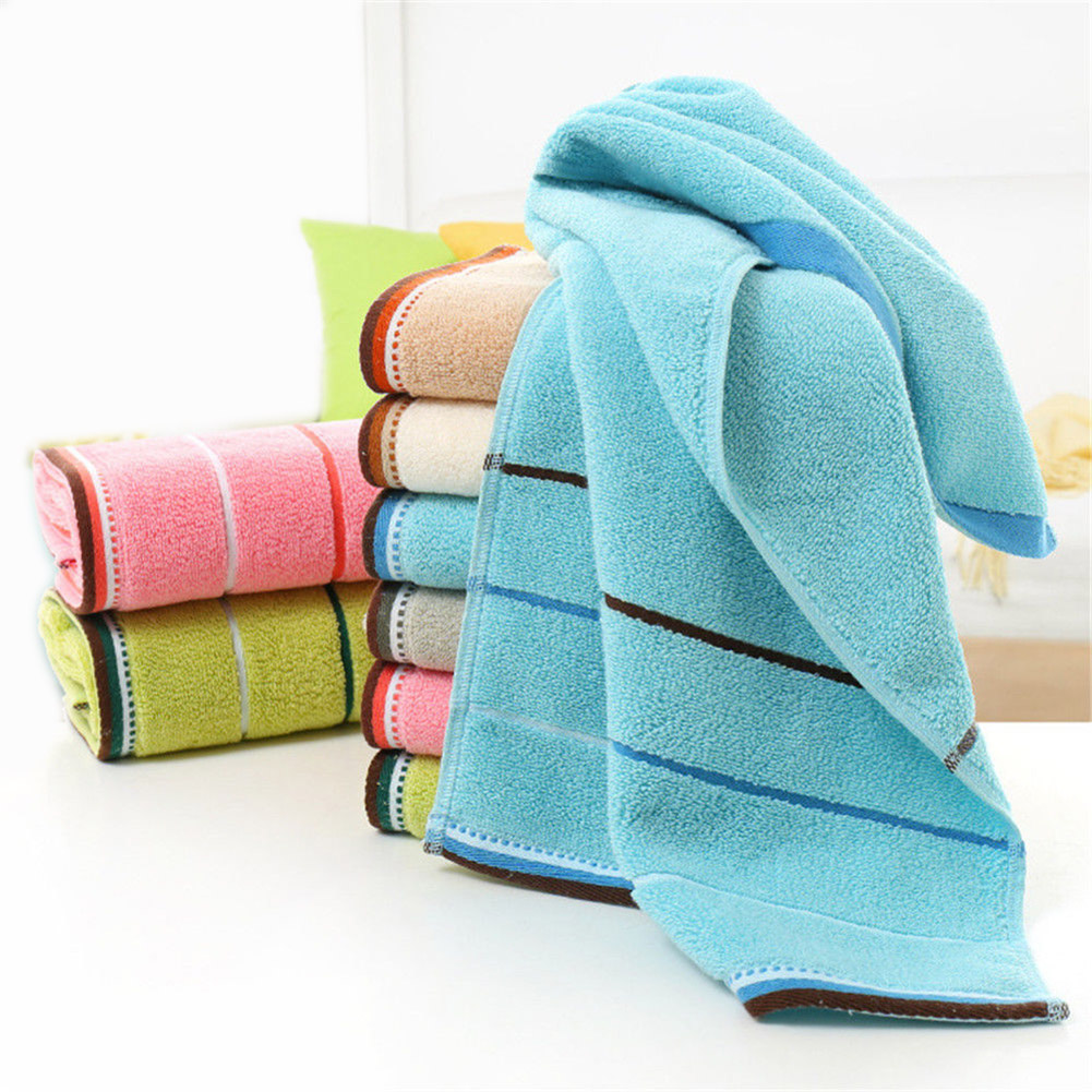 Striped Square Water Kitchen Bathroom Washing Absorbent Ultra thin ...