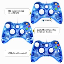 ViGRAND USB Wired Joypad Controller Joystick for Microsoft Xbox 360 Gamepad with PC for Windows 7/8/10 for Xbox360 Gamepads стоимость