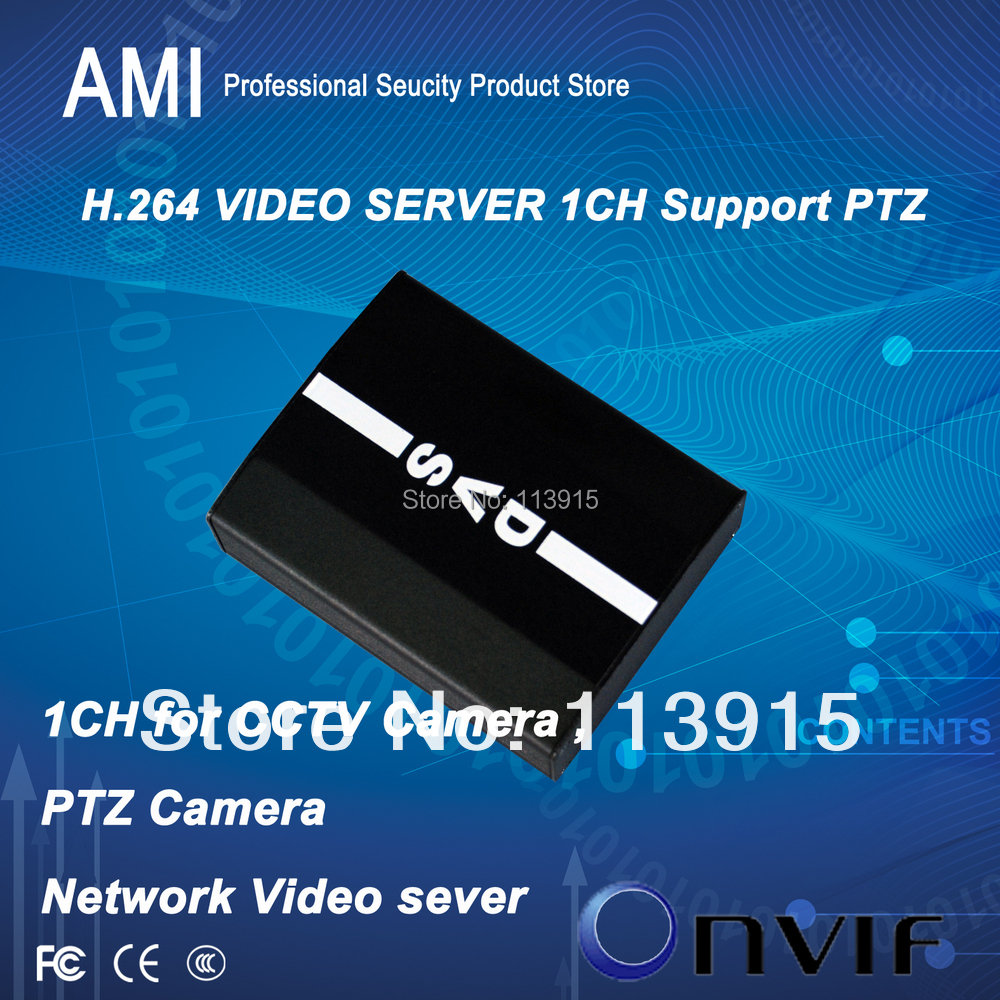 Economical IP Video server 1ch D1 resulition with PTZ