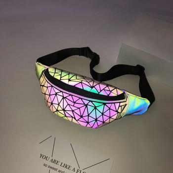 Luminous Geometry Waist Bags  4