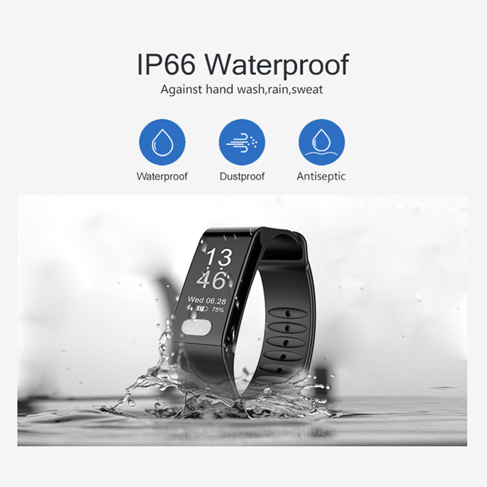 Sports Men Watch Smart Bracelet Fitness Tracker Heart Rate Monitor Wristband Pedometer Sleep Monitor Watch for Android phone IOS ezon gps hrm heart rate monitor sports hiking training fitness watch calories pedometer bluetooth 4 0 smart sports watch t033