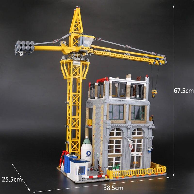 Лепин 15031 4425 шт. натуральная MOC серии классический строительной площадке строительные блоки кирпичи legoing игрушка модель как рождественские