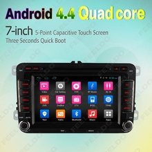 7inch Android 4.4.4 Quad Core Car DVD GPS Radio For VW Golf 5 6/Polo/Passat/Jetta/Tiguan/Touran #FD-4559