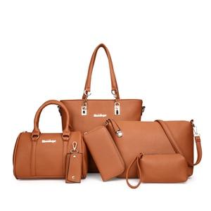 Image 4 - MIWIND 2020 New Female Shoulder Bags Fashion Women Bag High Quality PU Leather Womens Handbags 6 Piece Set Composite Bag