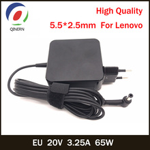 EU 20V 3.25A 65W 5.5*2.5mm AC Laptop Charger For Lenovo IBM B470 B570e B570 G570 G470 Z500 G770 V570 Z400 P500 P500 IdeaPad G575