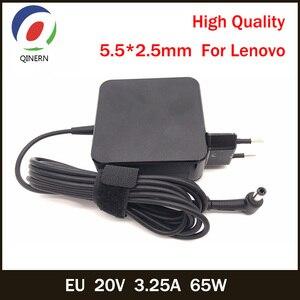 Image 1 - Eu 20V 3.25A 65W 5.5*2.5Mm Ac Laptop Lader Voor Lenovo Ibm B470 B570e B570 G570 g470 Z500 G770 V570 Z400 P500 P500 Ideapad G575