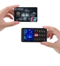 Melrose M18 5mm Super Slim Mini Card Phone Shockproof Dustproof Student Anti lost Bluetooth Dialer Earphone Mobile Cell Phone