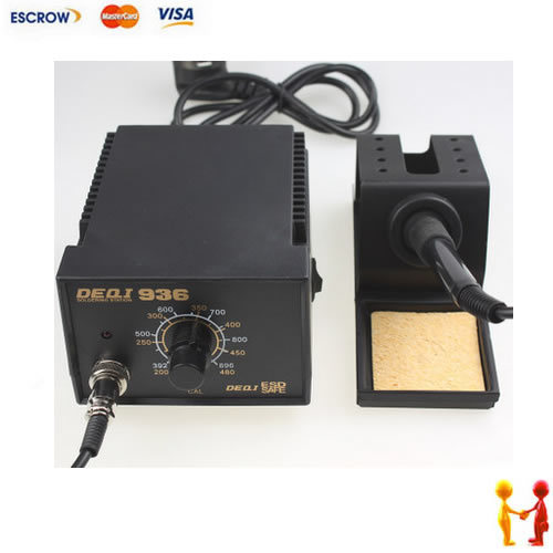Freeshipping, 220V anti static soldering station, constant temperature solder irons
