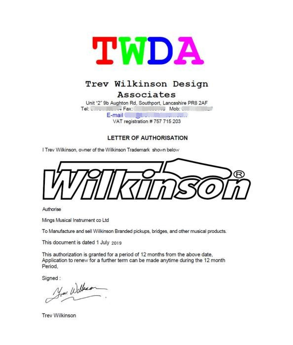 Купить с кэшбэком TL Wilkinson Tele Pickups Tele Eleciric Guitar Pickups Chrome Silver WOVT