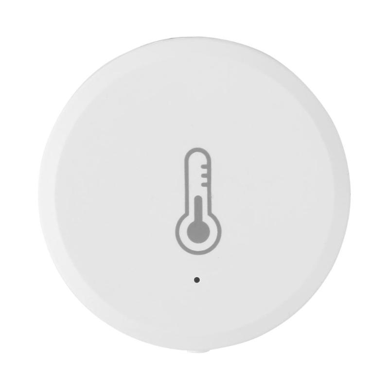 Tuya Temperature And Humidity Sensor Alarm System Devices For Amazon Alexa Temperature And Humidity Detector Home Security Props