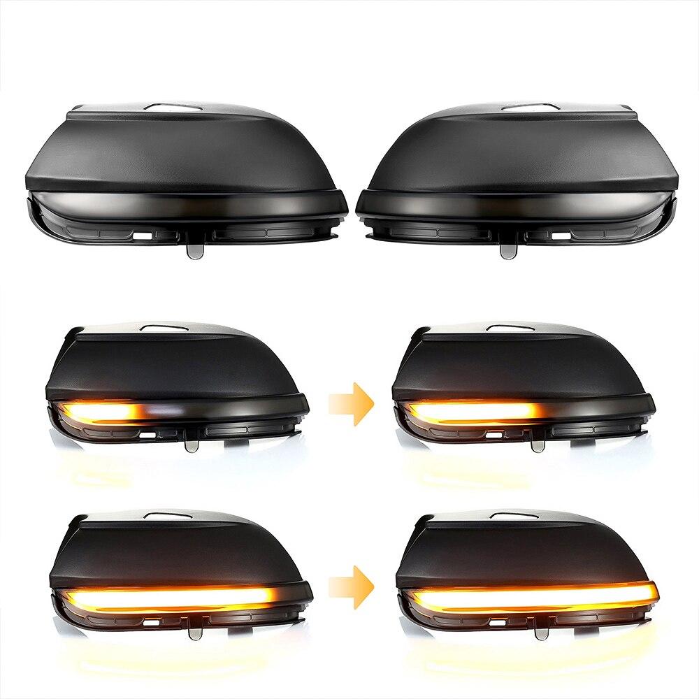 Indicador Espelho de Carro iSincer B7 MK3 LED Ligue Luz de Sinalização para VW Scirocco Passat CC EOS Beetle Seqüencial Dinâmica LEVOU lâmpada