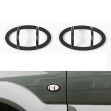 Металл сторона Fender указатель поворота крышка отделка предотвращения столкновений лампа охранники Рамки автомобиля Средства для укладки волос для Suzuki Jimny 2012-15