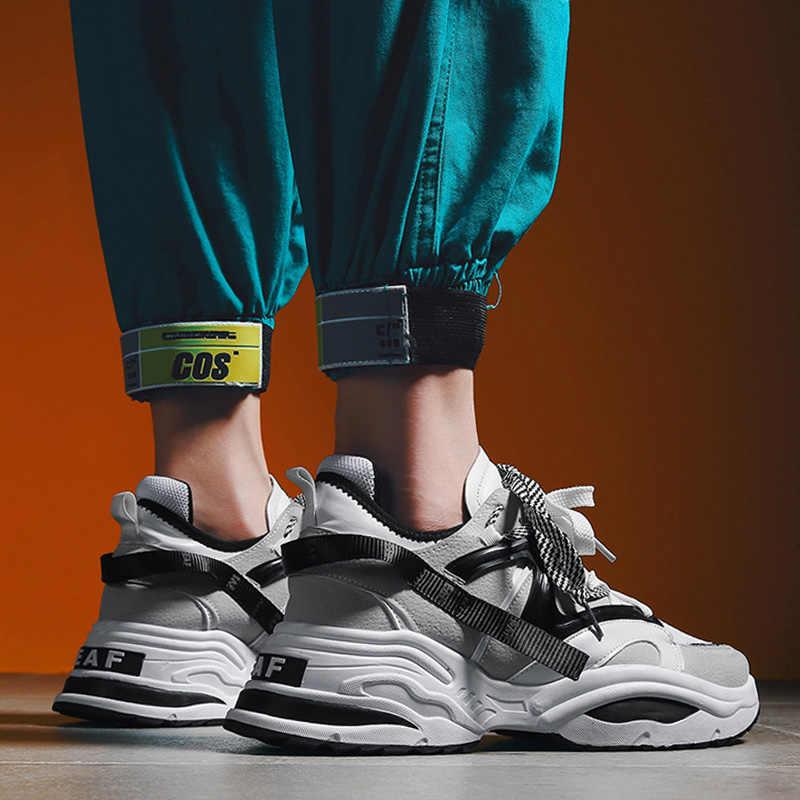 INS Vintage baba sneakers 2019 kanye west 700 açık nefes erkekler rahat ayakkabılar zapatillas hombre rahat tenis masculino