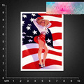 Free shipping PVC sticker waterproof UV proof ,Marilyn Monroe,pin up girl BLINGIRD