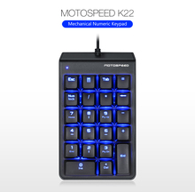 Motospeed K22 Numeric Wired Keypad